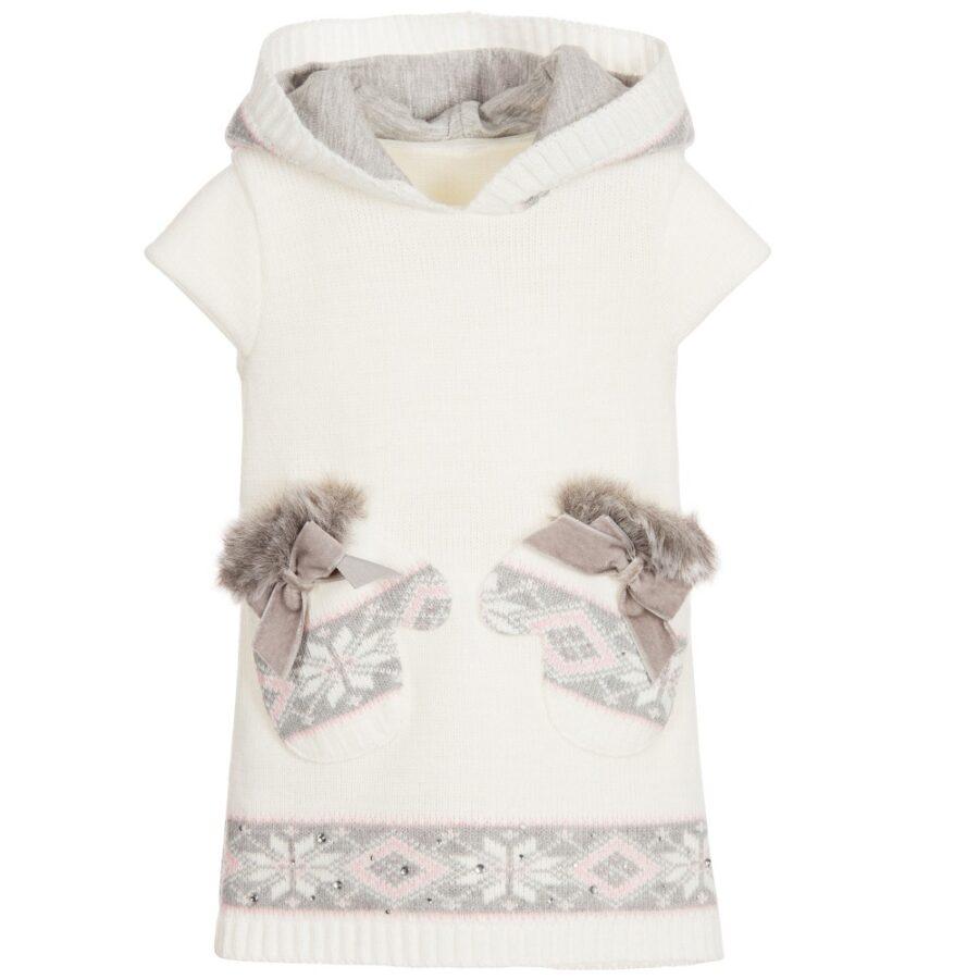 Φόρεμα Πλεκτό Κοντμάνικο Με Κουκούλα ( 62E3253) – Meli Melo eShop 79db7db861f