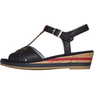 Παπούτσια πέδιλα πλατφόρμες μπλε (KRISTIN 9Α) d038c3765a0