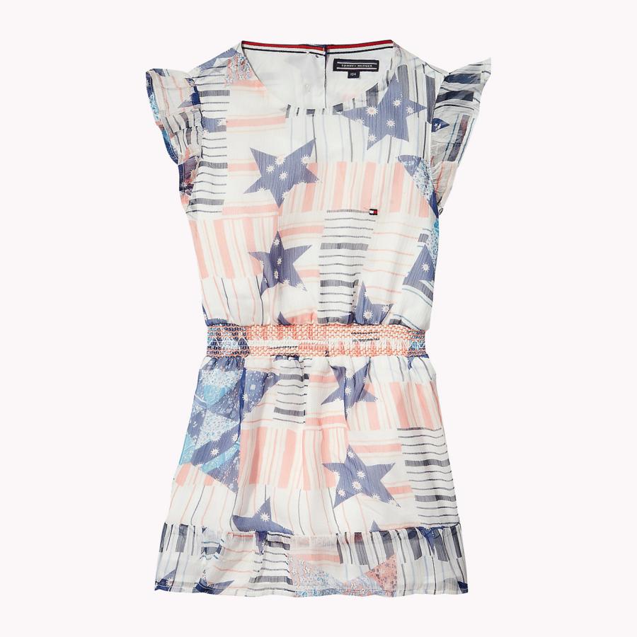Φόρεμα εμπριμέ (M ENCHANTING STAR PRINT DRESS S S) – Meli Melo eShop 31fa37045d0