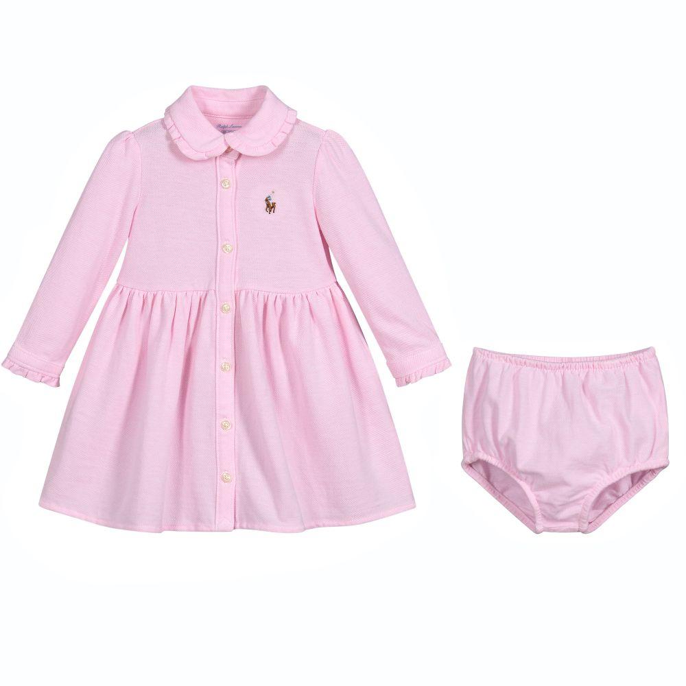 Φόρεμα bebe πικέ ροζ με γιακά (8263338) – Meli Melo eShop ff4d0c6153d