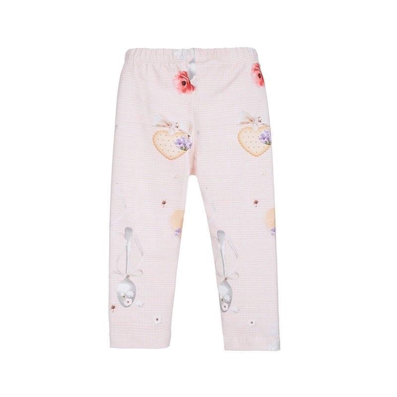 Σετ κολάν ροζ με σχέδια και φούτερ βελουτέ ροζ με κουκούλα (82Ε5428 ... 00d7e2a2bf9