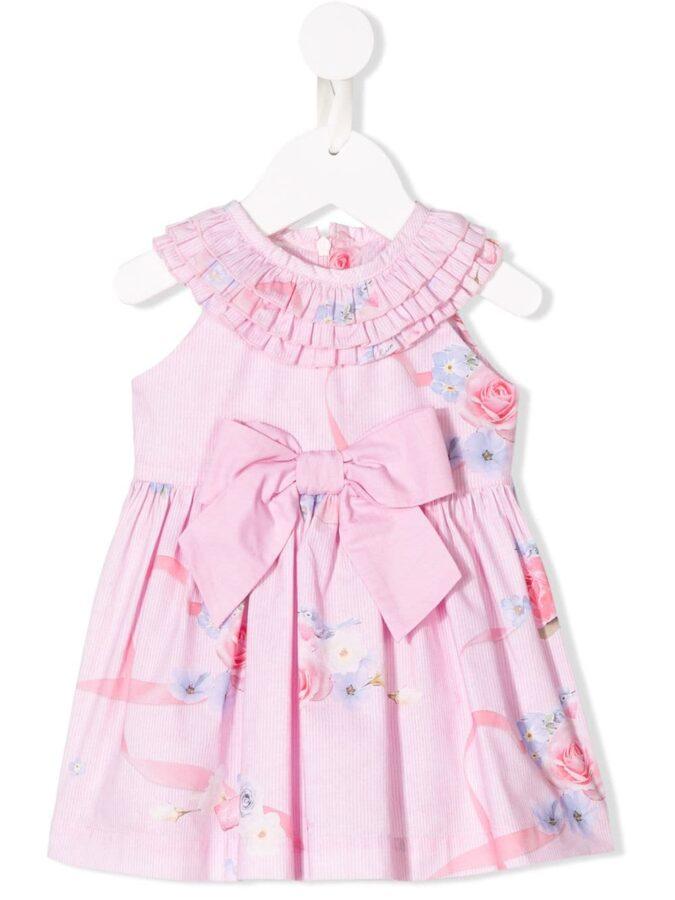 Φόρεμα ροζ εμπριμέ (91Ε3270) – Meli Melo eShop 01db4e2dd91